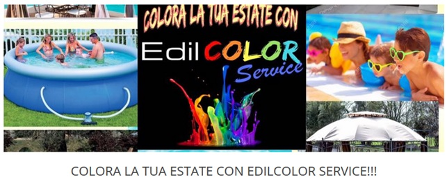 Colora la tua estate con EdilCOLOR SErvice