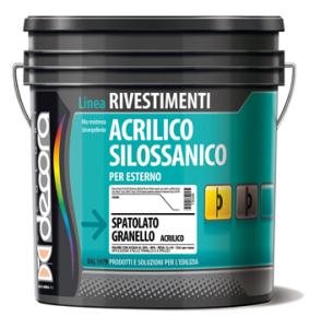 SPATOLATO GRANELLO ACRILICO