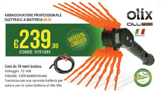 Abbacchiatore Professionale Elettrico a Batteria € 239,00
